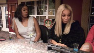 Wendy Osefo Karen Huger Real Housewives Of Potomac