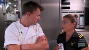 Below Deck Mediterranean Tom Checketts Malia White