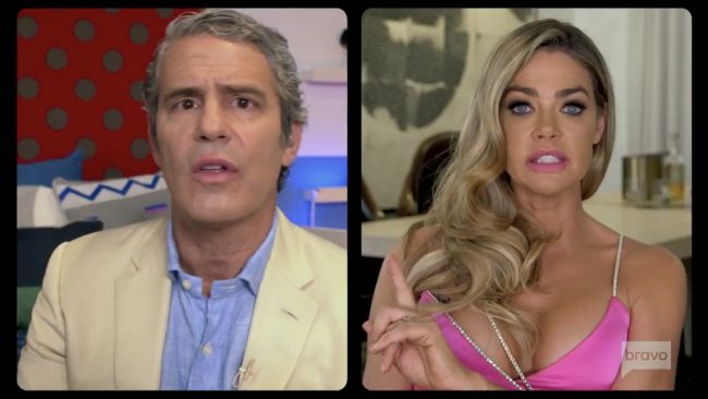 Andy Cohen Denise Richards Real Housewives Of Beverly Hills