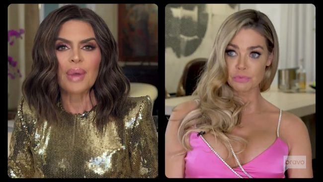Lisa Rinna Denise Richards Real Housewives Of Beverly Hills