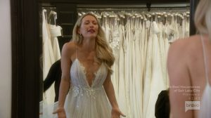 Real Housewives Of Orange County Braunwyn Windham-Burke wedding dress