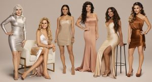 The Real Housewives of New Jersey Margaret Josephs, Jackie Goldschneider, Melissa Gorga, Teresa Giudice, Dolores Catania, Jennifer Aydin