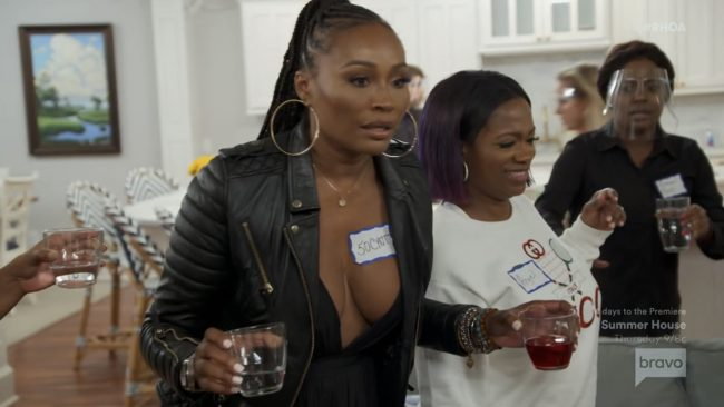 Cynthia Bailey Kandi Burruss Real Housewives Of Atlanta