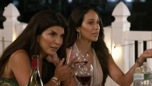 Teresa Giudice Melissa Gorga Real Housewives Of New Jersey