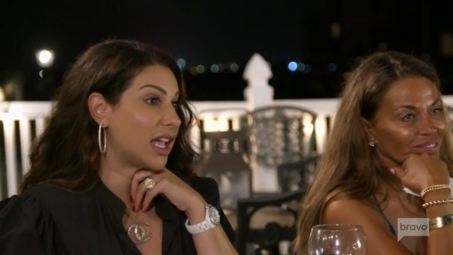 Jennifer Aydin Dolores Catania Real Housewives Of New Jersey