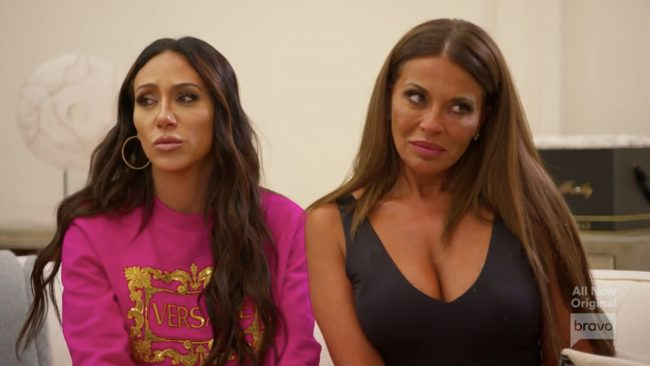 Melissa Gorga Dolores Catania Real Housewives Of New Jersey