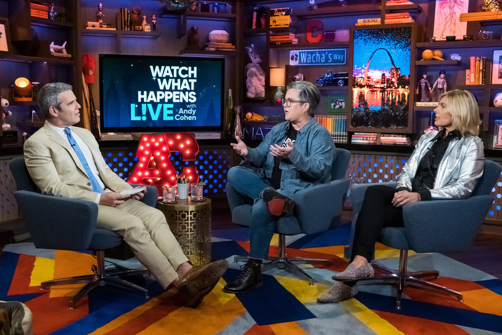 Andy Cohen, Rosie O'Donnell, & Captain Sandy Yawn
