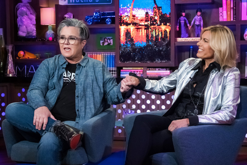 Rosie O'Donnell & Captain Sandy Yawn