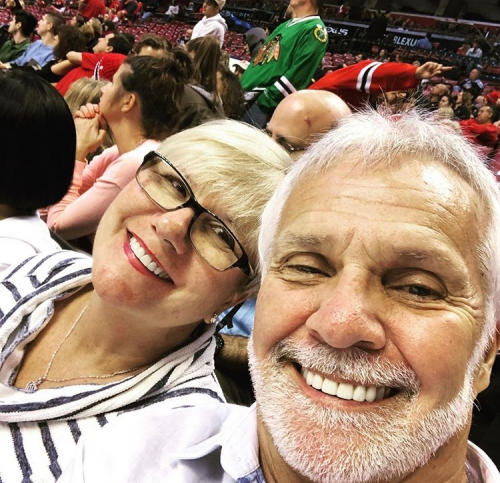 Captain Lee Rosbach & His Wife Mary Anne