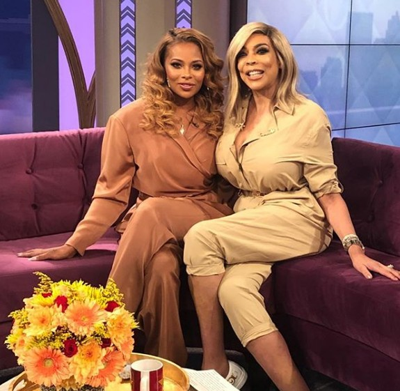 Eva Marcille & Wendy Williams