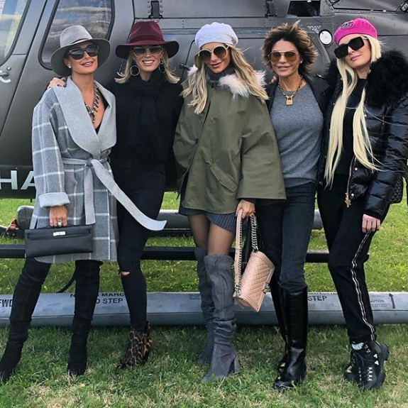 Kyle Richards, Teddi Mellencamp Arroyave, Dorit Kemsley, Lisa Rinna, & Erika Jayne