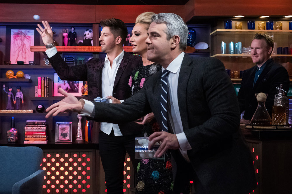 Andy Cohen, Kate Chastain, & Josiah Carter
