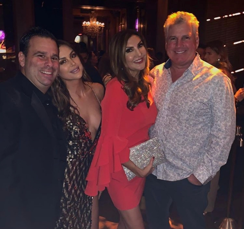 Randall, Lala, Heather McDonald, & Heather's Husband Peter Dobias