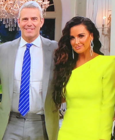 Andy Cohen & Kyle Richards