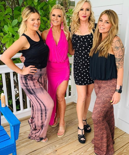 Tamra & Shannon With Their Glam Team