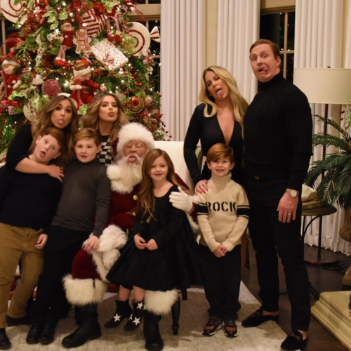 Kim Zolciak, Kroy Biermann, & Their Kids