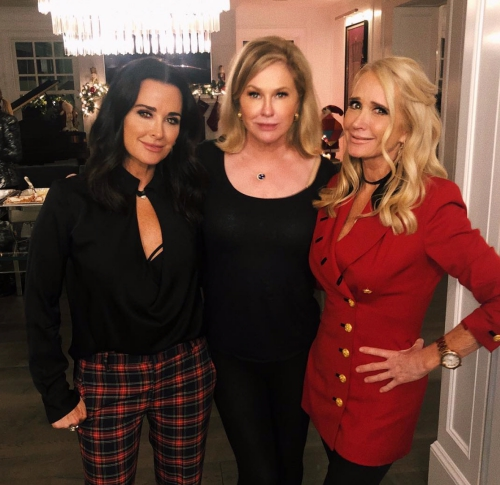 Kyle Richards, Kathy Hilton, & Kim Richards