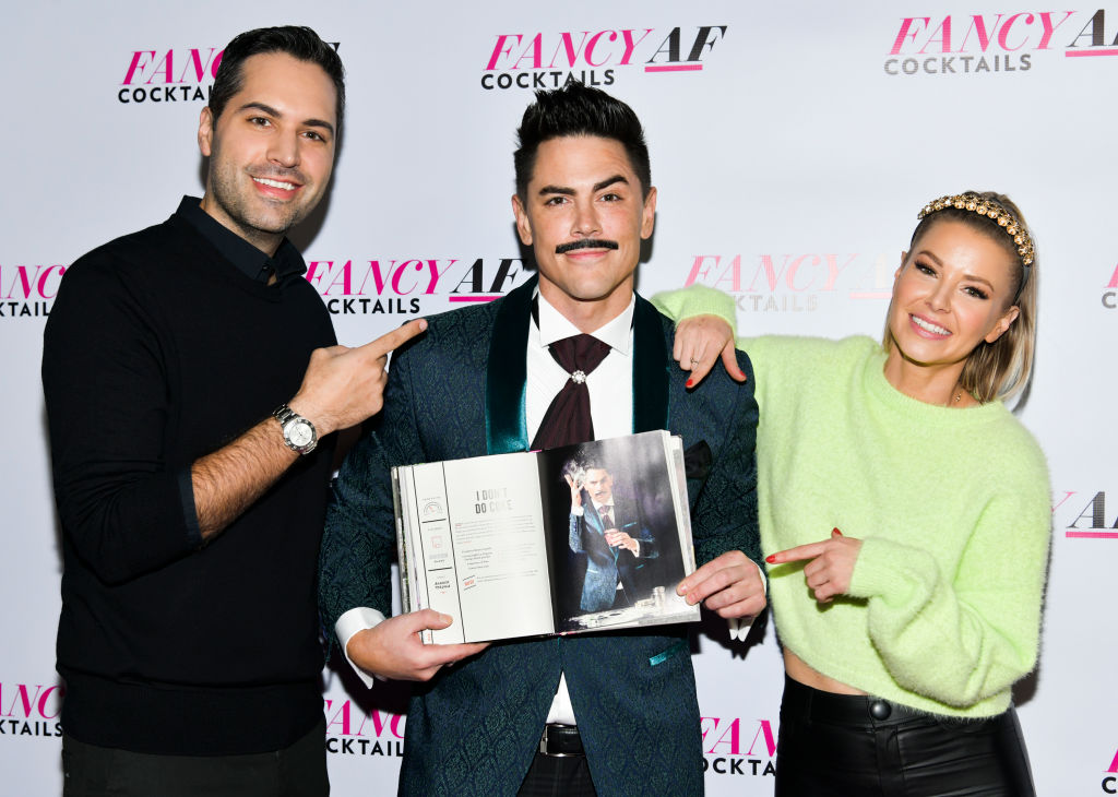 Danny Pellegrino, Tom Sandoval, and Ariana Madix